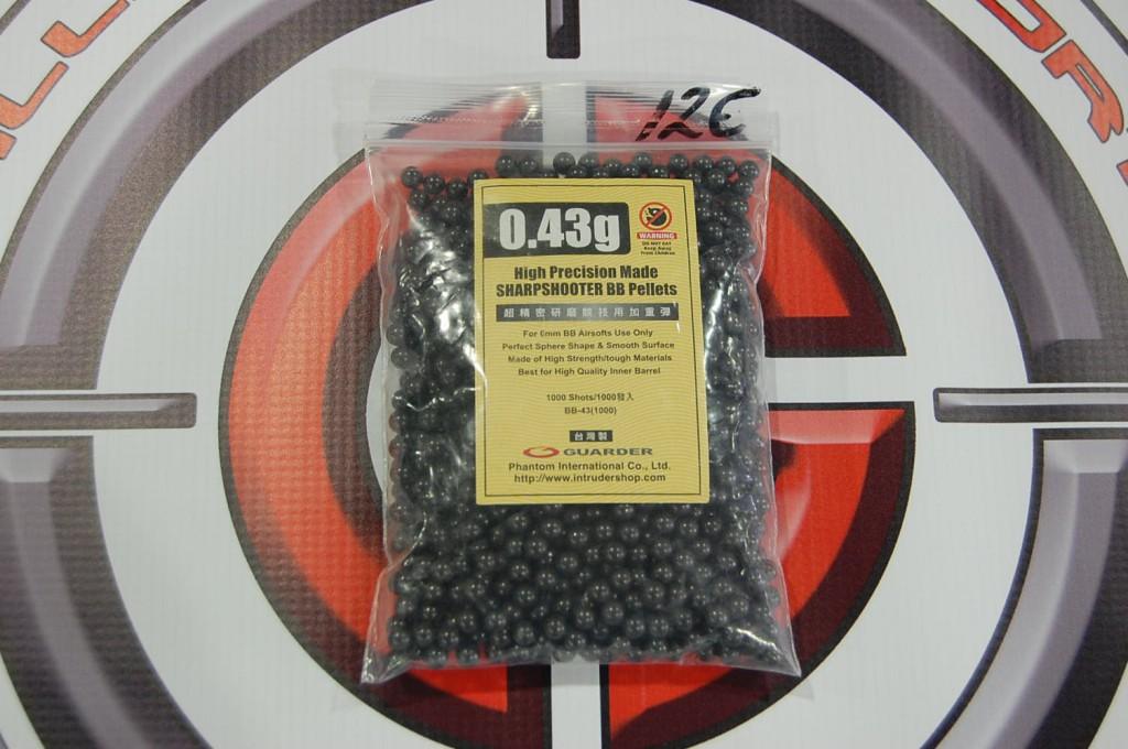 BB,S GUARDER 0,43 BLACK