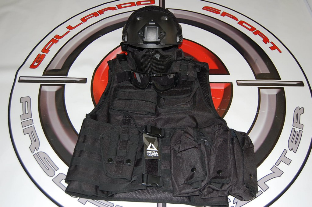 PACK GALLARDO ARMOR (BLACK)