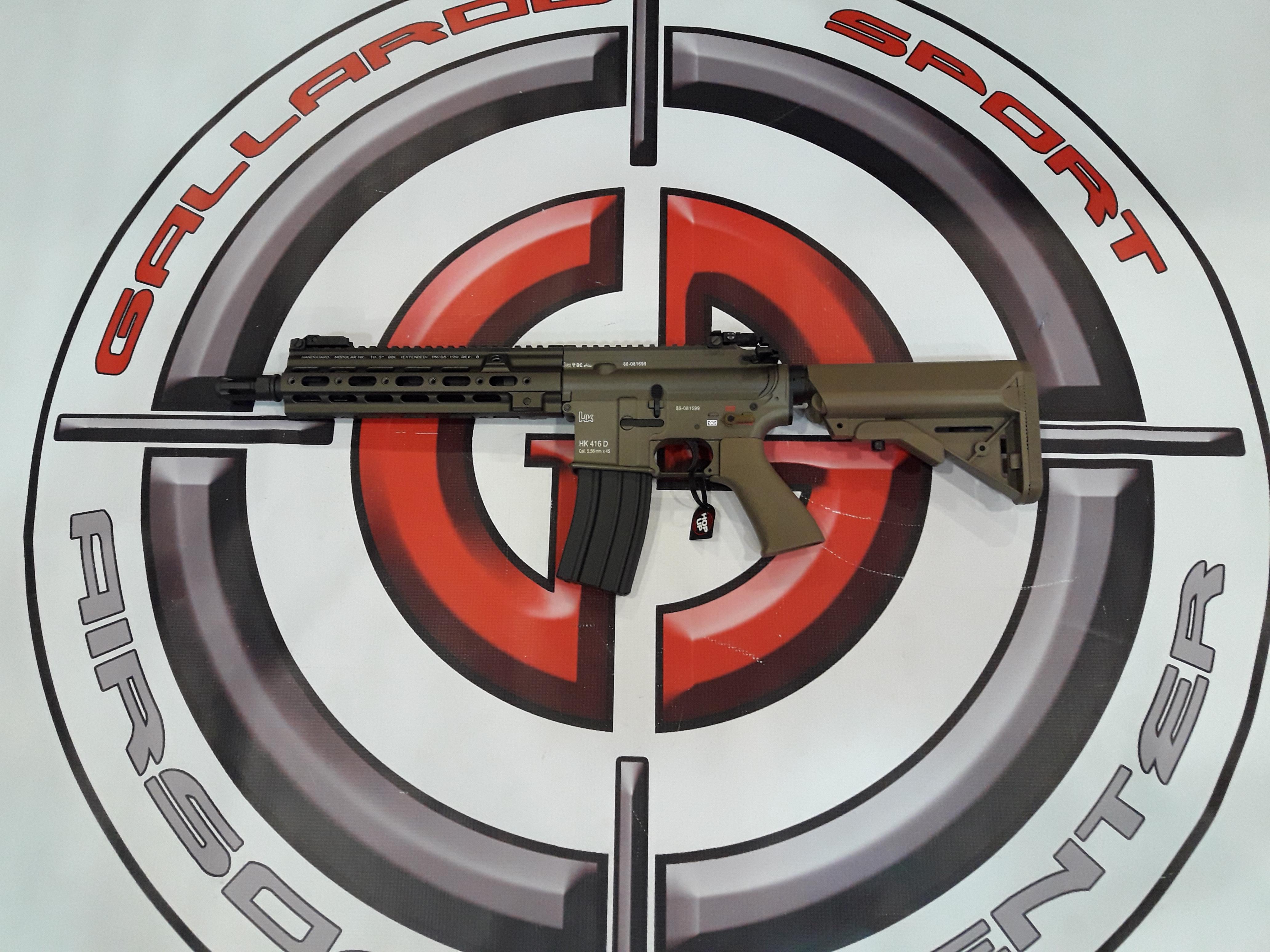 TOKYO MARUI HK 416 DELTA CUSTOM RECOIL SHOCK