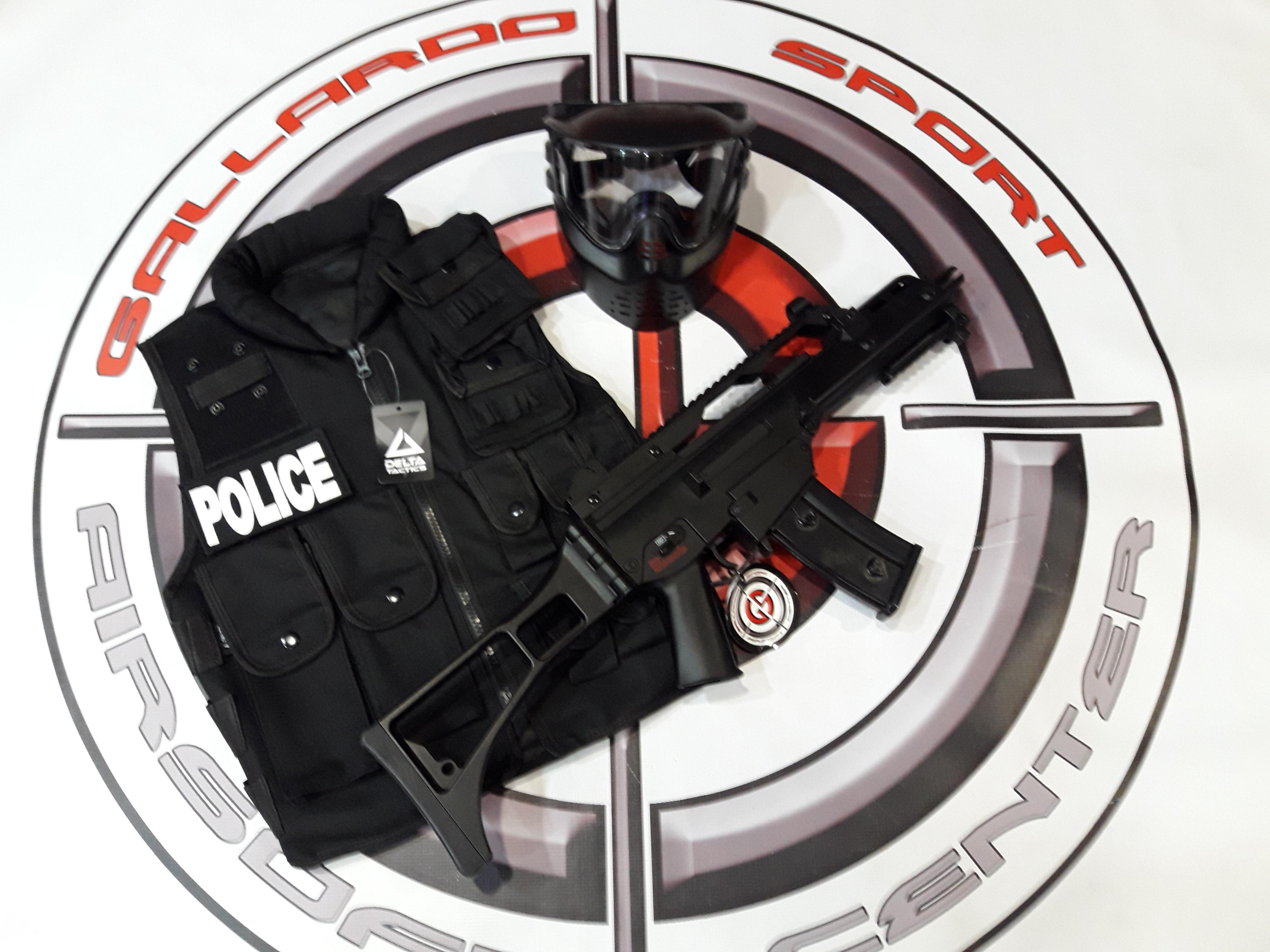PACK GOLDEN POLICE BLACK