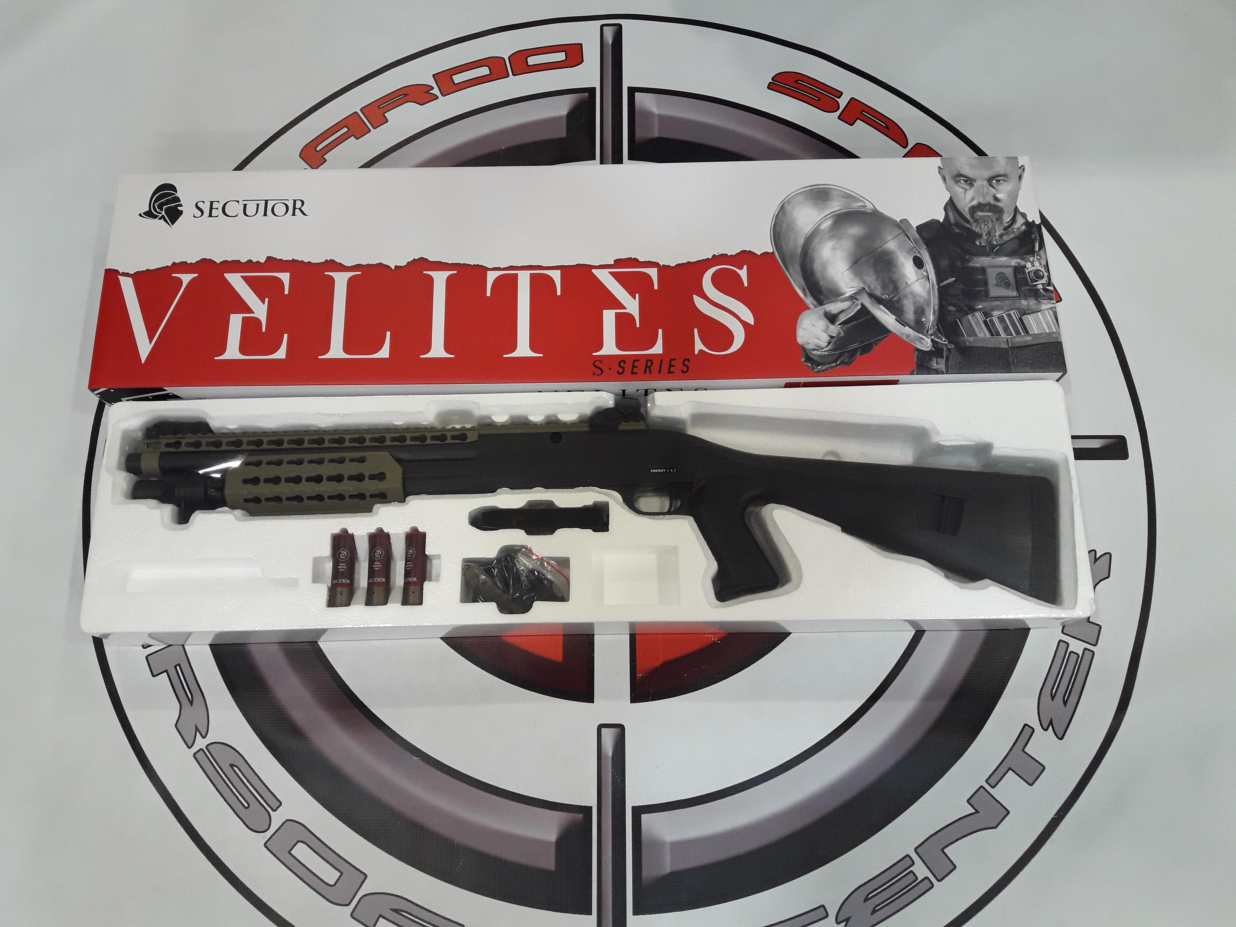 ESCOPETA VELITES S-XI TAN SECUTOR