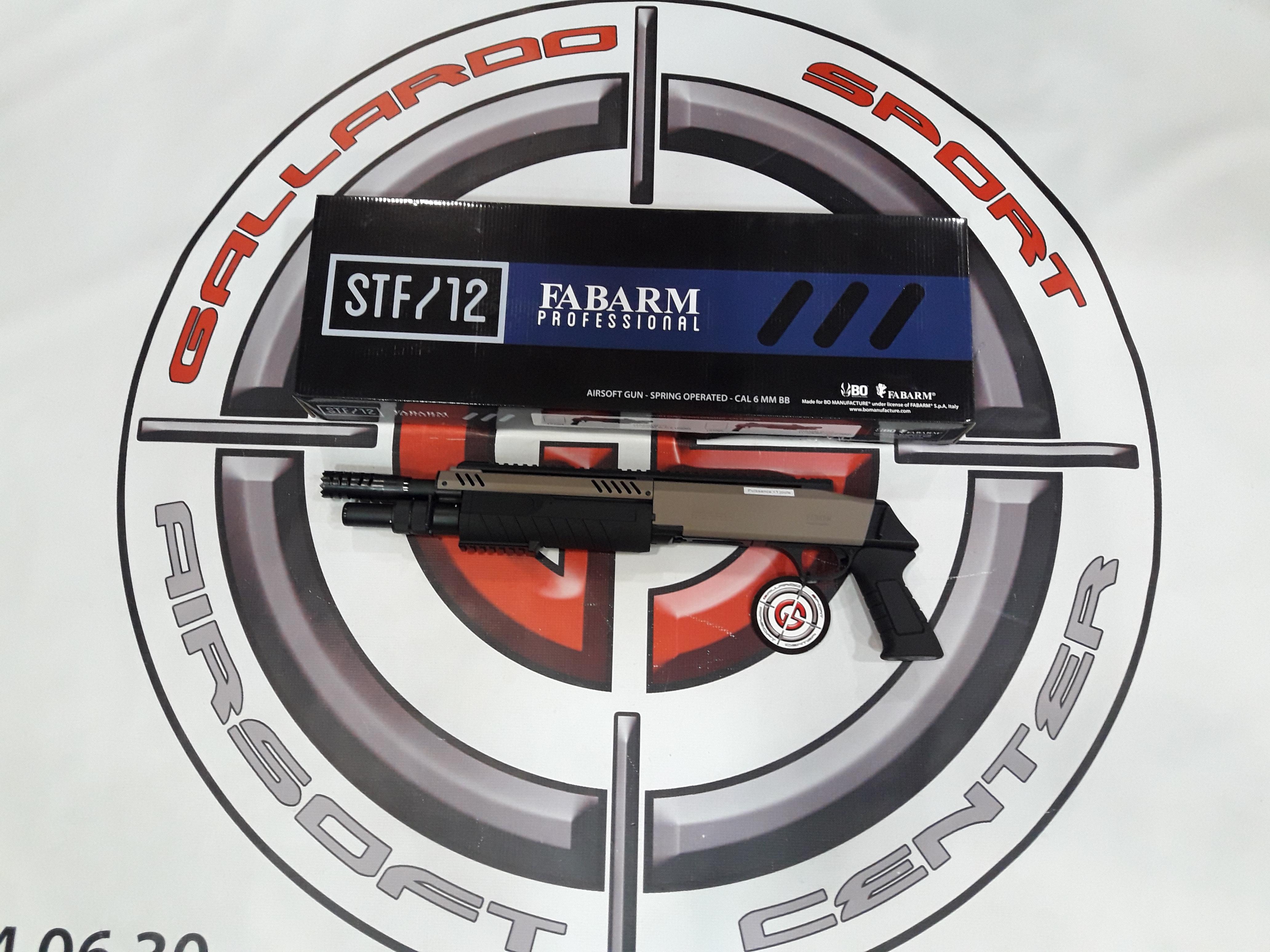 ESCOPETA STF12-11 CORTA FDE BO FABARM
