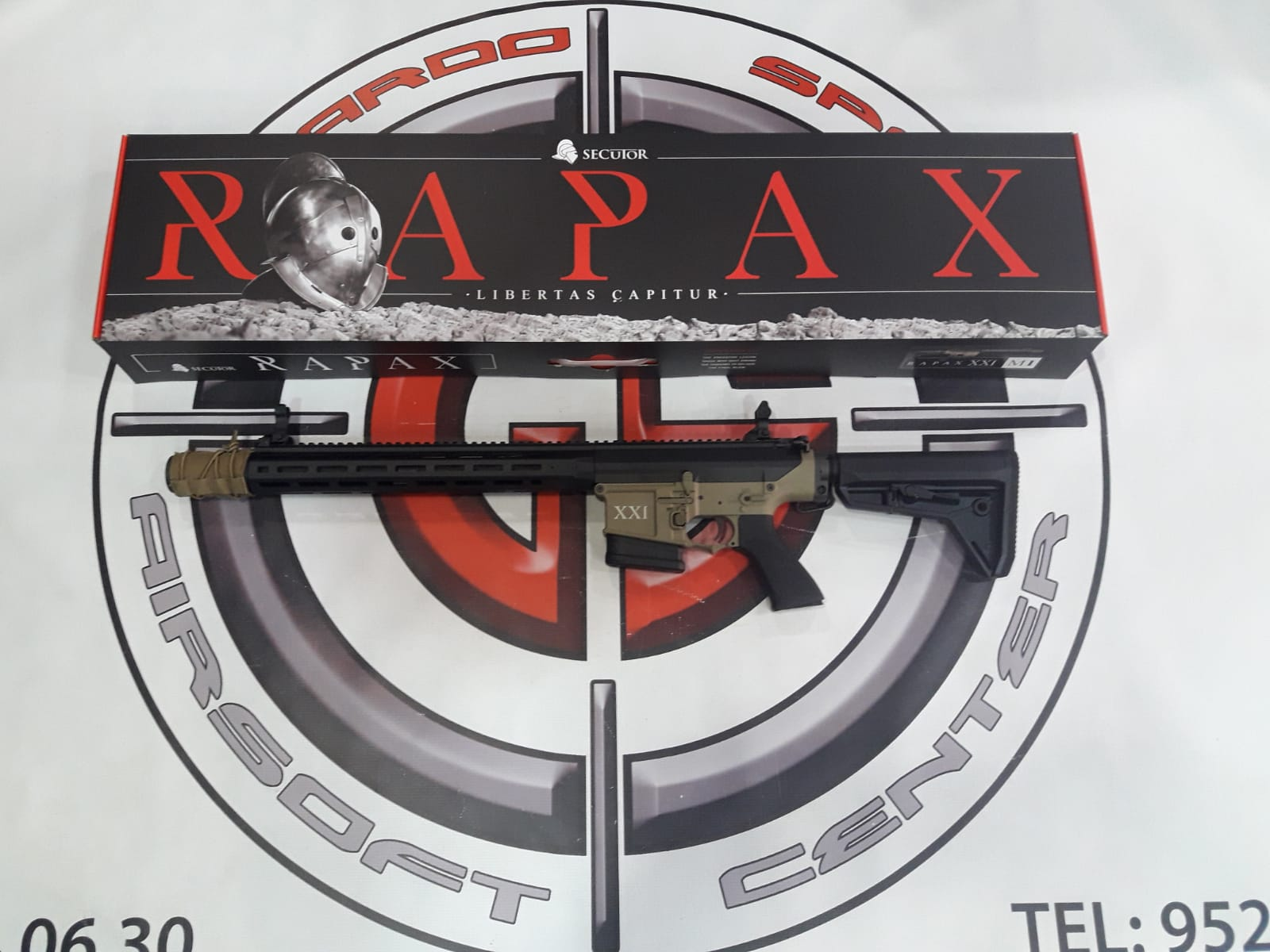 DMR RAPAX XXI M.2 SECUTOR