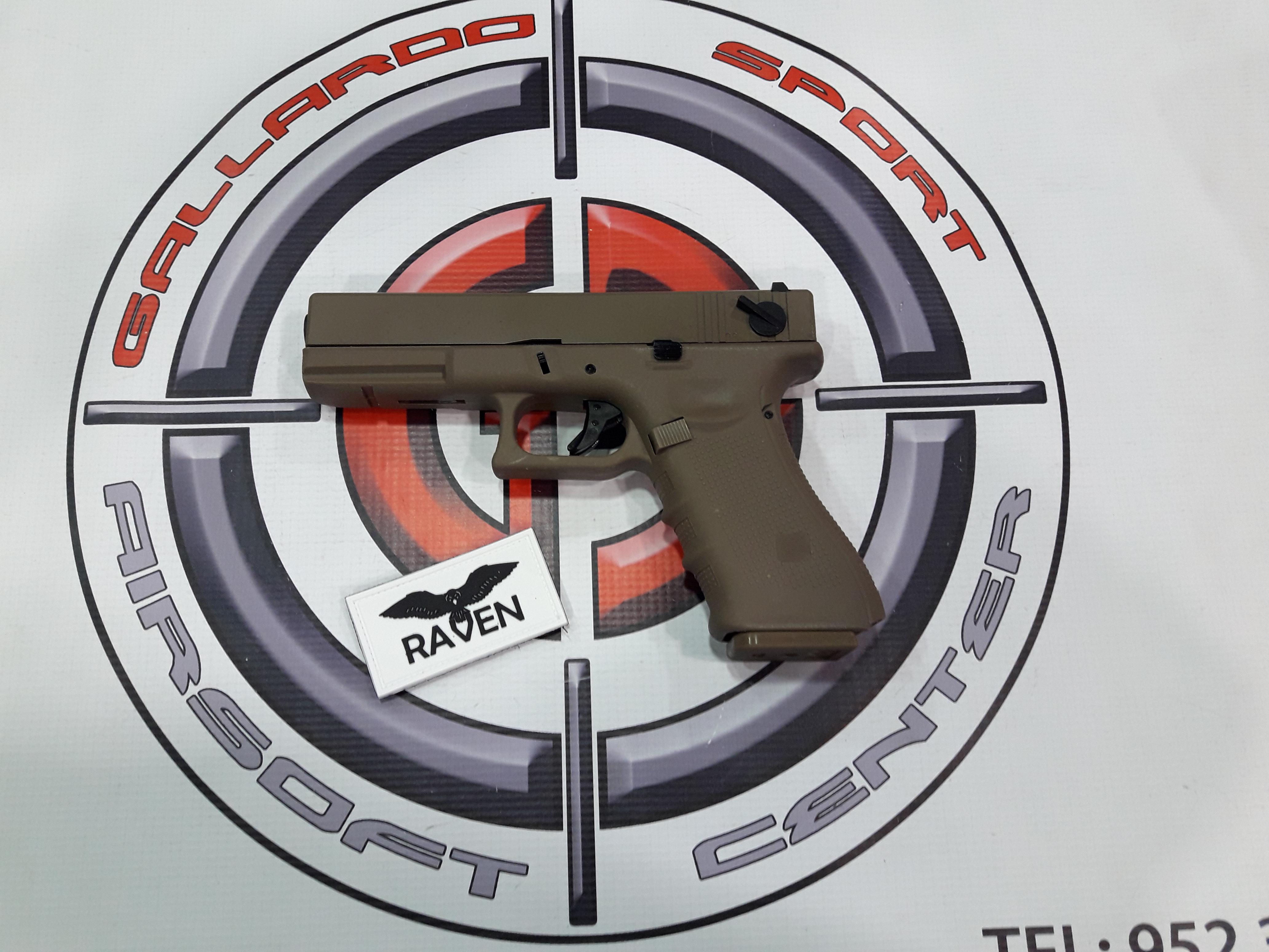 Pistola Glock EU18C RAVEN TAN
