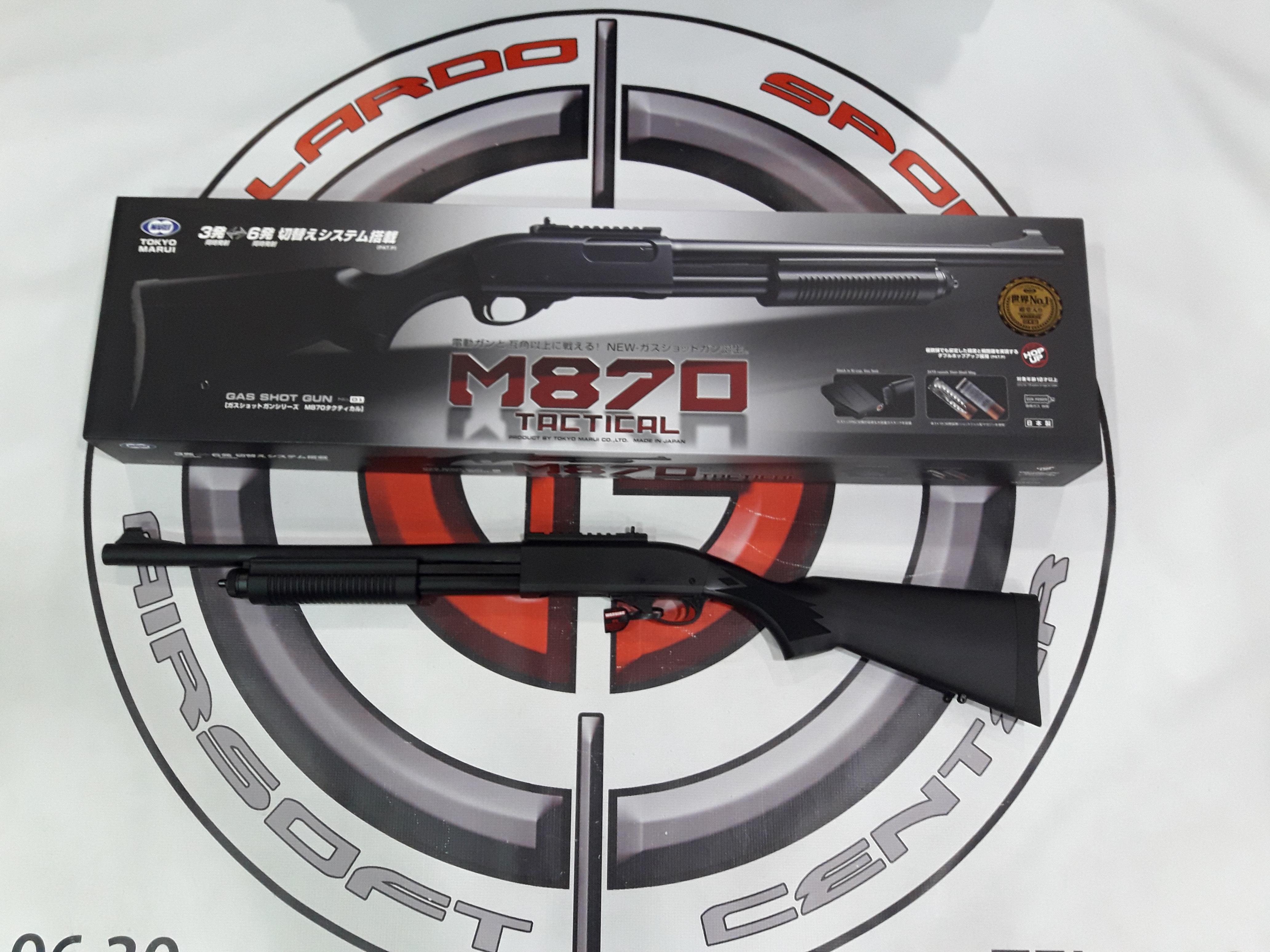ESCOPETA M870 TACTICAL TOKYO MARUI