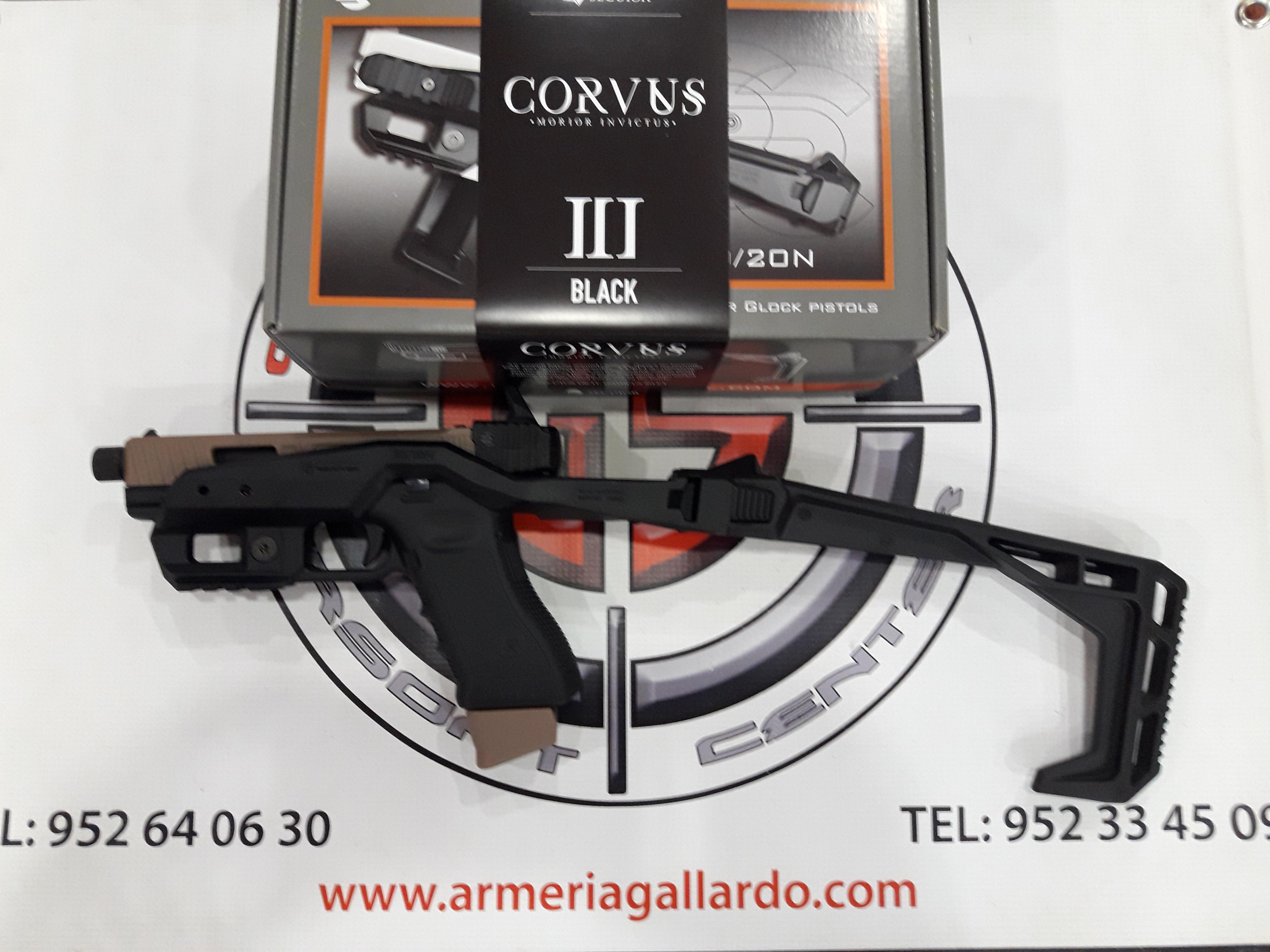 CORVUS III BLACK SECUTOR ARMS